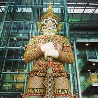 Photo taken at Suvarnabhumi Airport (BKK) by Disakul W. on 7/19/2013