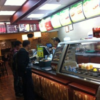 Photo taken at Subway by Christian J. on 10/17/2012