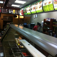 Photo taken at Subway by Christian J. on 11/9/2012