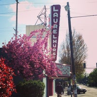 Photo taken at Laurelhurst Theater & Pub by Kate B. on 4/11/2014