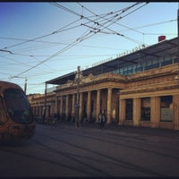 Photo taken at Gare SNCF de Montpellier Saint-Roch by Tony D. on 10/3/2012