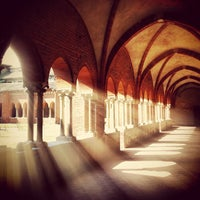Photo taken at Abbazia di Chiaravalle by Stefano R. on 3/16/2013