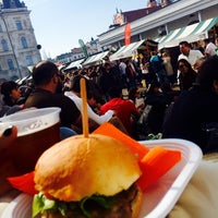 Photo taken at Pivo & Burger Fest by Müge K. on 4/11/2015