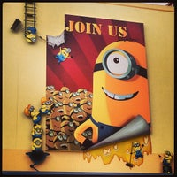 Photo taken at Despicable Me: Minion Mayhem by Jodee S. on 6/14/2013