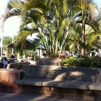 Photo taken at Parque Hidalgo by Amado H. on 12/17/2012