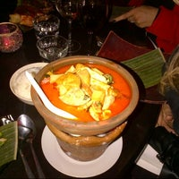 Photo taken at Little Buddha by Angela S. on 3/12/2013