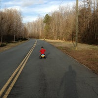 Photo taken at Muddy Creek Greenway by Lucas V. on 1/13/2013