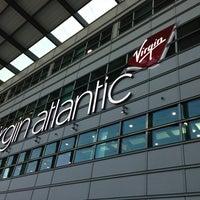 Photo taken at Virgin Atlantic Check-In by N52B 3. on 3/29/2013
