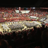 Photo taken at St. John Arena by Tom O. on 10/6/2012
