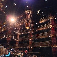 Photo taken at KÀ Theatre by Ken I. on 2/9/2013