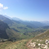 Photo taken at Col de la Colombière by Gaëlle R. on 8/30/2015