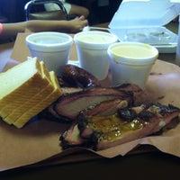 Photo taken at Chisholm Trail Bar-B-Q by Melissa D. on 5/27/2013