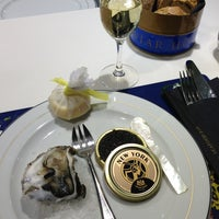Photo taken at Caviar House & Prunier by Rogier B. on 1/27/2014