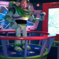 Photo taken at Buzz Lightyear Astro Blasters by CatYap W. on 12/15/2012