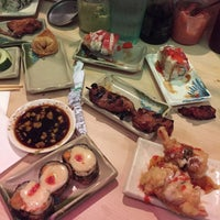 Photo taken at Fuji Sushi Boat & Buffet by Ally M. on 10/12/2015
