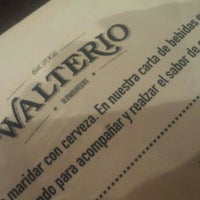 Photo taken at Walterio by Melisa S. on 2/6/2016