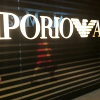Photo taken at Emporio Armani by lovli3 on 4/8/2016