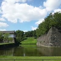 Photo taken at Sakuradamon Gate by Mark K. on 10/8/2012