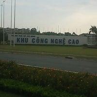 Photo taken at Khu Công Nghệ Cao Tp.HCM (SaiGon Hi-Tech Park) by Mark K. on 3/4/2013