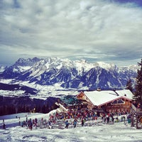Photo taken at Schaf-Alm by Tony B. on 1/2/2014
