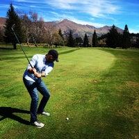 Photo taken at Wanaka golf course by Tony B. on 9/26/2014
