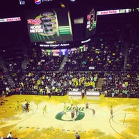 Photo taken at Matthew Knight Arena by Luke K. on 12/22/2013
