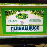 Photo taken at Secretaria do Meio Ambiente e Sustentabilidade de Pernambuco - SEMAS by Alessandra F. on 7/4/2014