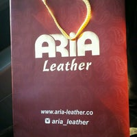Photo taken at Aria Leather | چرم آريا by Ayla N. on 4/10/2017