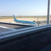 Photo taken at Niigata Airport (KIJ) by Takeshi I. on 10/26/2012