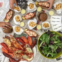 Photo taken at Burger & Lobster by Foursquare Insiders on 10/7/2015