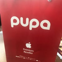 Photo taken at Pupa Apple Store by TUNAY T. on 1/31/2018