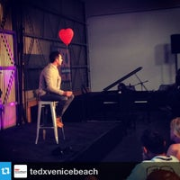 Photo taken at TEDxVeniceBeach by Christopher E. on 9/16/2013