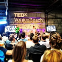 Photo taken at TEDxVeniceBeach by Christopher E. on 9/15/2013