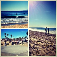 Photo taken at Santa Monica State Beach by Christopher E. on 1/12/2013