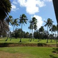 Photo taken at Wailua Golf Course by ernie e. on 2/25/2013