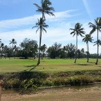 Photo taken at Wailua Golf Course by ernie e. on 10/2/2012