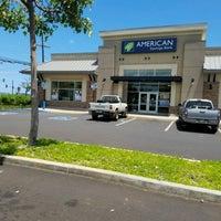 Photo taken at American Savings Bank by ernie e. on 4/8/2017