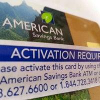Photo taken at American Savings Bank by ernie e. on 10/25/2015