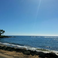 Photo taken at Snorkeling @ Lawai Beach by ernie e. on 1/6/2015