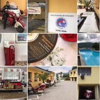 Photo taken at Hotel Motel Vezia Lugano by Andreas v. on 5/11/2017