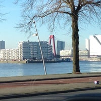 Photo taken at Oostmaaslaan Rotterdam by Maarten M. on 1/13/2013