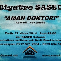 Photo taken at Sased(Sanati Severler Dernegi) by Hazal A. on 4/26/2014