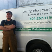 Photo taken at Cutting Edge Vancouver Landscape Services by Graham H. on 3/29/2013