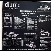 Foto tomada en Diurno Restaurant & Bar por Marta M. el 10/27/2012