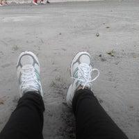 Photo taken at Mandala Krida Jogging Track by Aussy N. on 5/12/2014