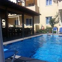 Photo taken at Hotel Evropi pool by Anita V. on 5/31/2013