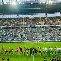 Photo taken at Stadion Wrocław by Stadion Wrocław on 7/23/2015