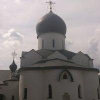 Снимок сделан в Марфо-Мариинская обитель милосердия пользователем Mikhail B. 7/25/2013