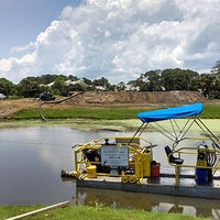 Photo taken at C&M Dredging, Inc. by Christian M. on 7/23/2015