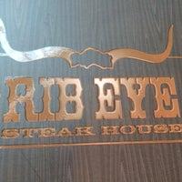 Photo taken at Rib Eye Steakhouse by Nasser A. on 12/28/2013